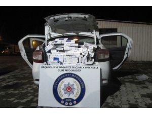 Düzce'de 8 Bin Paket Kaçak Sigara Ele Geçirildi