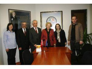Türkiye Güçsüzler Ve Kimsesizler Vakfı'ndan Kent Konseyi'ne Ziyaret
