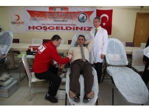 Ceza İnfaz Kurumları Personellerinden Kan Bağışı