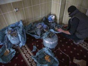 Cizre'de camide bulundu: Bakın içinden ne çıktı!