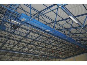 Sungurlu Mahmut Atalay Spor Salonunun Çatı Ve Zemini Yenilendi
