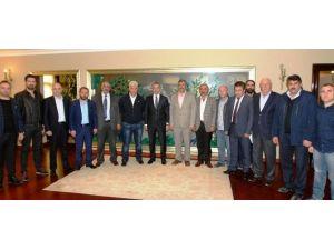 Başkan Köşker, Otogar Esnafını Ağırladı