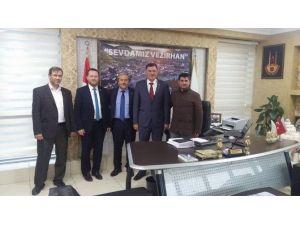 AK Parti'ye Geçen Vezirhan Belediye Başkanı Duymuş'a Hayırlı Olsun Ziyareti