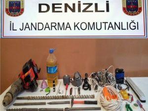 Denizli'de Defineci Operasyonu: 6 Gözaltı