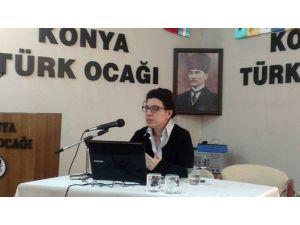 Konya Türk Ocağında Terör Ve Terörle Mücadele Konuşuldu