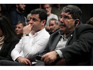 Selahattin Demirtaş ve Salih Müslim 'Öcalan' konferansında konuştu