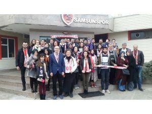 Mimarlık öğrencileri Samsunspor'a modern tesis tasarlayacak