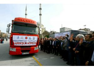 Bağcılar'dan Bayır-Bucak Türkmenlerine yardım eli