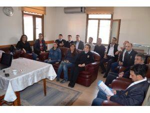 Fatsa'da Polislere Uyuşturucuyla Mücadele Eğitim Semineri