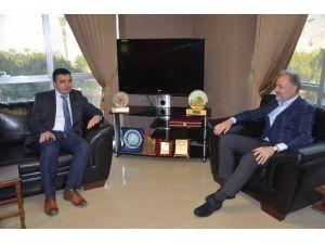 Hatay Büyükşehir Belediyesi Koordinatörü Beydilli İtso'yu Ziyaret Etti