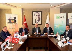 Türkiye'nin 5 TİM-teb Girişim Evi'nden Biri Mersin Teknopark'ta Kuruluyor