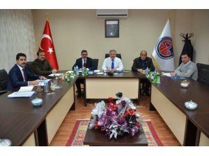 OSB Yönetim Kurulu Toplantısı Vali Kahraman'ın Başkanlığında Yapıldı