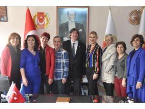 CHP'li Kadınlardan Zgc'ye Ziyaret