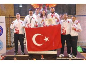 Emrah Şalanoğlu, Avrupa Üçüncüsü Oldu