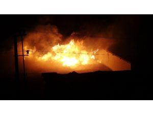 Nusaybin'de Okul Binasında Yangın