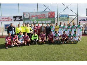 """Eskil'de """"Muharrem Sucu Futbol Turnuvası"""" Başladı"""