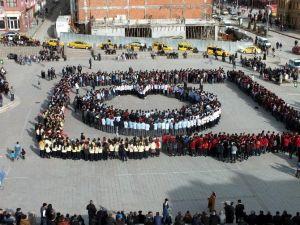 Yozgat'ta 2 Bin Öğrenci İstiklal Marşı'nı Okudu
