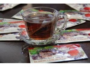 'Yaban Mersini' Poşet Çay Olarak Piyasaya Çıkacak