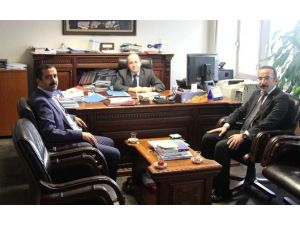 Sağlık-sen Genel Başkanı Memiş'ten Maliye Bakanlığı'na Ziyaret