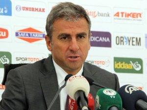 Hamzaoğlu antrenmanı kapattı