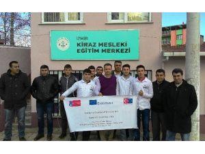 Yaptıkları Proje İle Kiraz'a AB Standartlarını Taşıdılar
