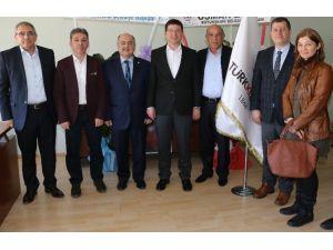 Başkan Subaşıoğlu'dan Tebrik Ziyareti
