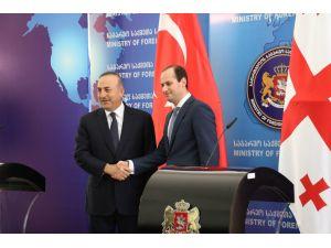 Dışişleri Bakanı Çavuşoğlu Gürcistan'da