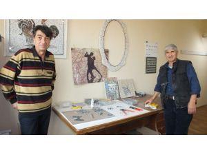 Burhaniye'de Mozaik Resim Sergisi Açılacak