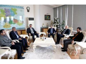 TBMM Dışişleri Komisyonu Başkanı Taha Özhan, Başkan Çakır'ı Ziyaret Etti