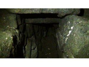 İşte Sur'daki Tünellerden Biri