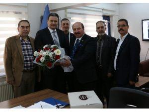 Meso Başkanı Akyüz'den İra'ya Ziyaret