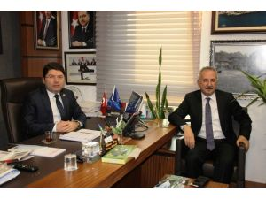 Bölge Müdüründen Milletvekili Tunç'a Ziyaret