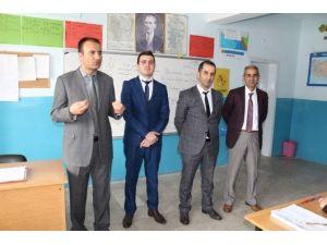 Bulanık İlçe Milli Eğitim Müdürü Edip'in Okul Ziyaretleri Devam Ediyor