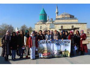 """Çumra Belediyesi """"40 Kardeş Eğitim Ve Kültür Gezileri"""" Projesi Başladı"""