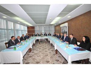 Osmaniye'nin gelişmesi için lobi toplantısı yapıldı