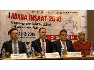 Adana inşaat fuarı yarın kapılarını açıyor