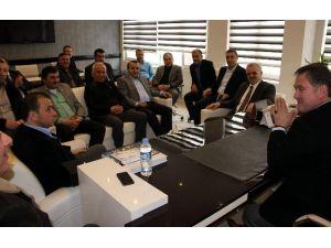 MÜSİAD'dan AK Parti'ye Ziyaret