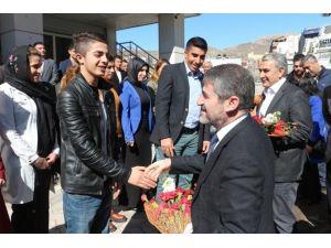 AK Partili Heyet Şırnak'ta