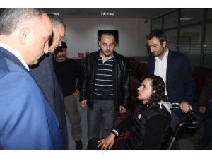 Suriye'de Yaralanan 3 Türkmen Savaşçı Sakarya'da Tedaviye Alındı
