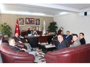 Öğretmenlerden Başkan Güler'e Ziyaret