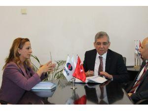 Zonguldak SGK'dan Sanko Ereğli Çimento Fabrikasına Ziyaret