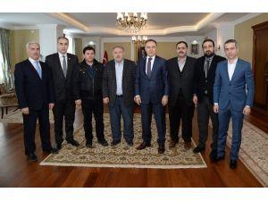 Erzurum'da Süt Sanayicileri Artık Yeni Bir Derneğe Kavuştu