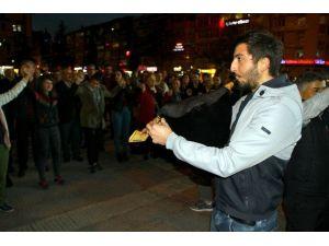 Samsun'da Artvin Derneklerinden Horonlu Eylem