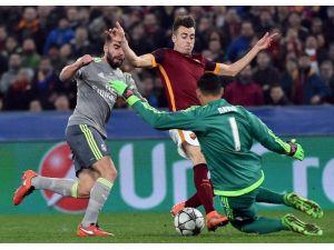 Real Madrıd, Deplasmanda Roma'yı Devirdi