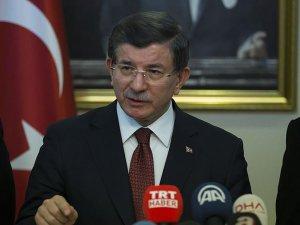 Davutoğlu: Terör örgütlerine karşı verdiğimiz mücadelede geri adım atmayacağız