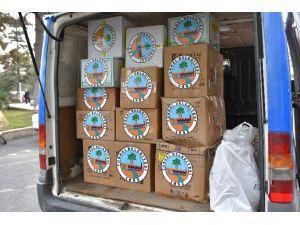 Turhal Belediyesi'nden Sur'daki Güvenlik Güçlerine Gıda Desteği