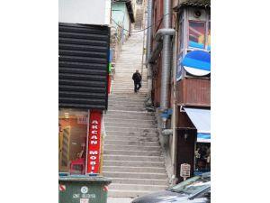Erenler Mahallesin Yeni Merdivenlerine Kavuştu
