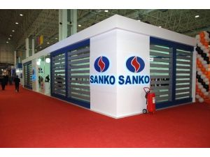 Sanko Tekstil İşletmeleri Pentex Fuarında