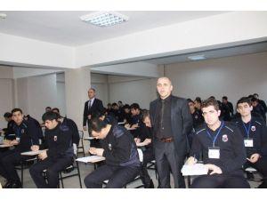 İnfaz Ve Koruma Memurluğu Hizmet Öncesi Eğitimi Öğrencilerinin Vize Sınavları Yapıldı