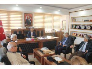 Ykked Düziçi Şubesi'nden Kaymakam Mustafa Koç'a Ziyaret